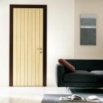 Фото 10: Сочетание фактуры и цвета двери в стиле модерн