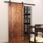 Фото 22: Деревянные двери в сельском стиле