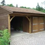 Фото 30: Дизайн деревянного гаража