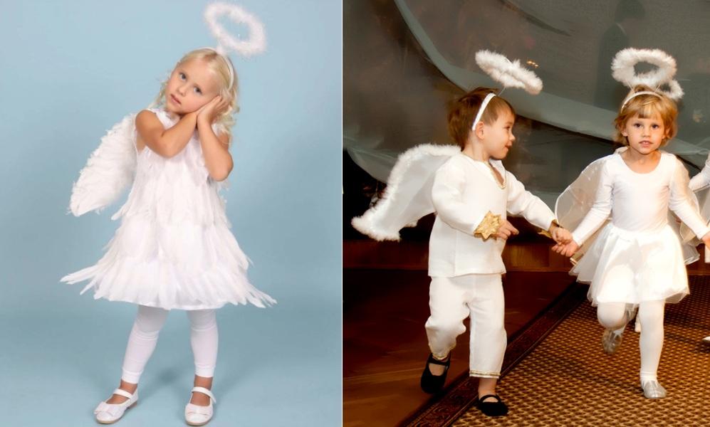Новогодние костюмы ангелов