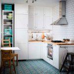 Фото 49: Белый угловой кухонный гарнитур