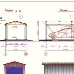 Фото 5: Чертеж гаража