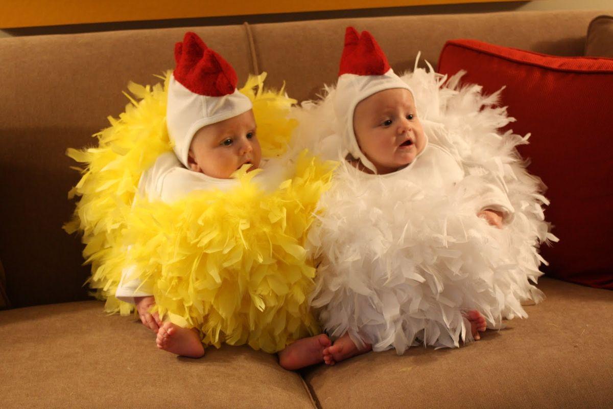 Костюмы цыплят для малышей