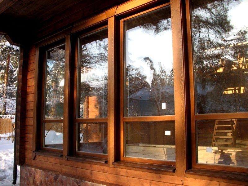 Деревянные окна и рамы