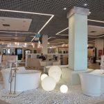 Фото 36: Дизайн потолка грильято с элементами подсветки