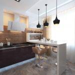 Фото 83: Дизайн кухни в стиле минимализм