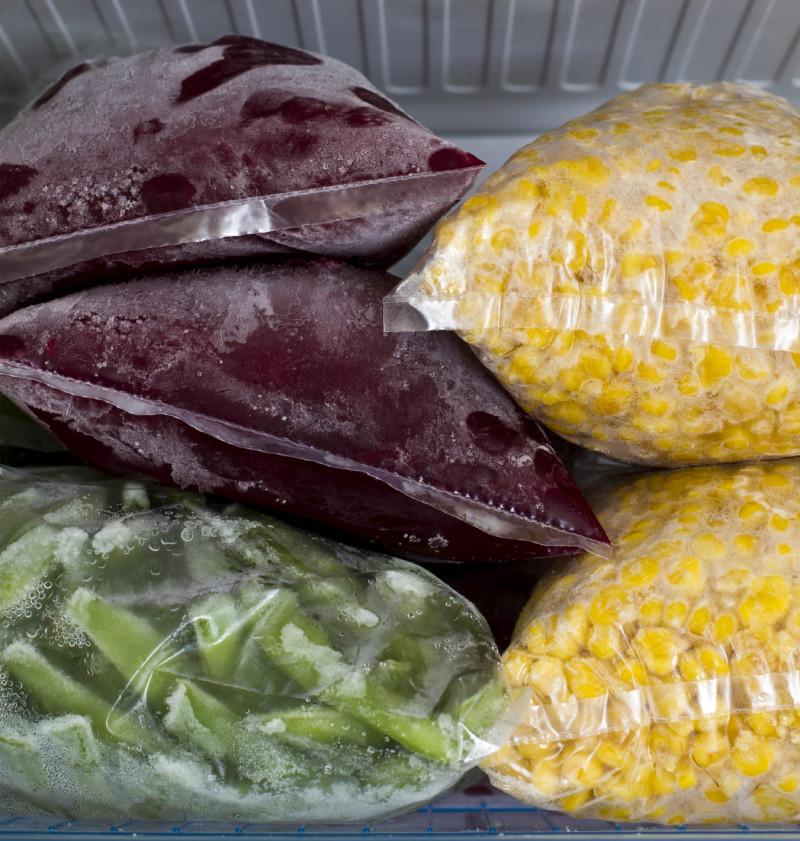 Фото 9: Заморозка овощей