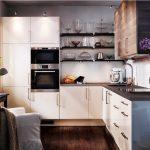 Фото 43: Маленькая функциональная кухня