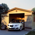 Фото 19: Деревянный гараж