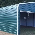 Фото 9: Интересная форма гаража