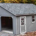 Фото 10: Фальцевой гараж на два гаража