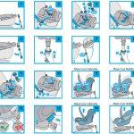 Фото 24: Инструкция по использованию и креплению детского автокресла
