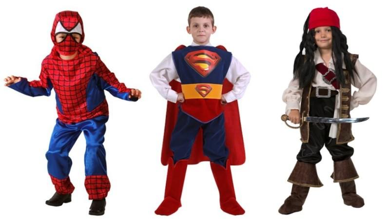 Костюмы супергероев