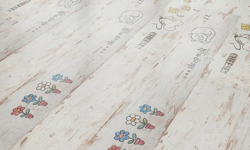 Фото 16: Ламинат с рисунком для дтскоц
