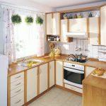 Фото 77: Кухонный гарнитур в деревенском стиле