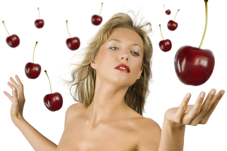 Применение вишни в косметологии