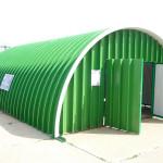 Фото 17: Металлический арочный гараж