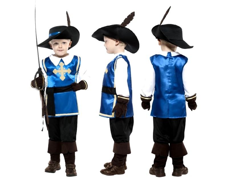 Новогодний костюм мушкетера для мальчика