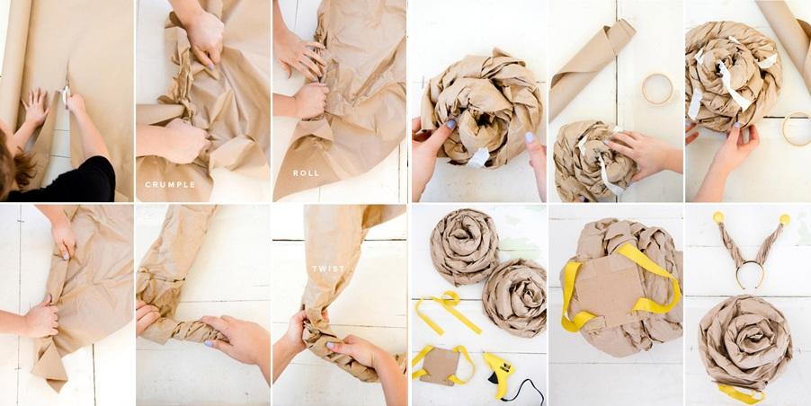 Панцирь улитки из бумаги своими руками