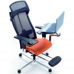 Фото 31: Компьютерное кресло с подставкой для ноутбука и мышки
