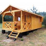 Фото 53: Маленький деревянный домик
