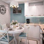 Фото 62: Угловой диван для маленькой кухни
