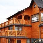 Фото 50: Многоэтажный деревянный дом