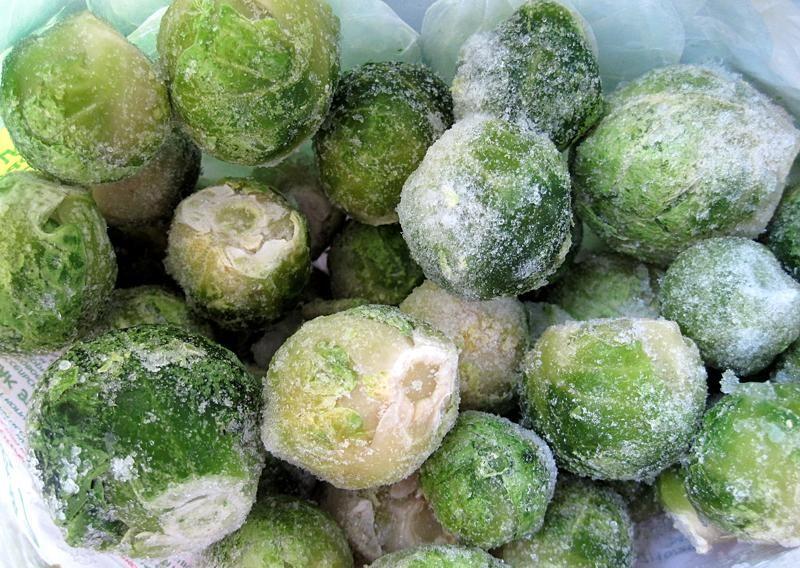 Замороженная брюссельская капуста