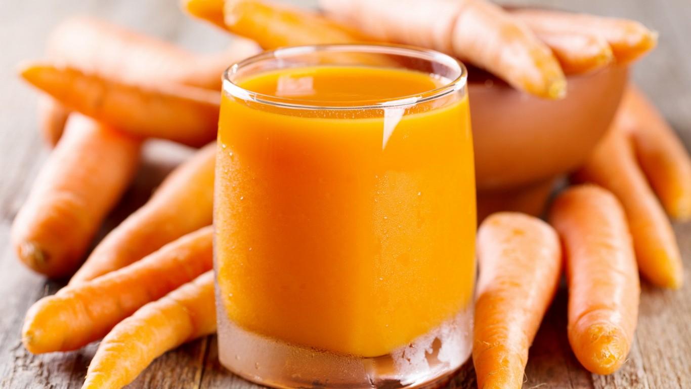 Лекарственный морковный сок