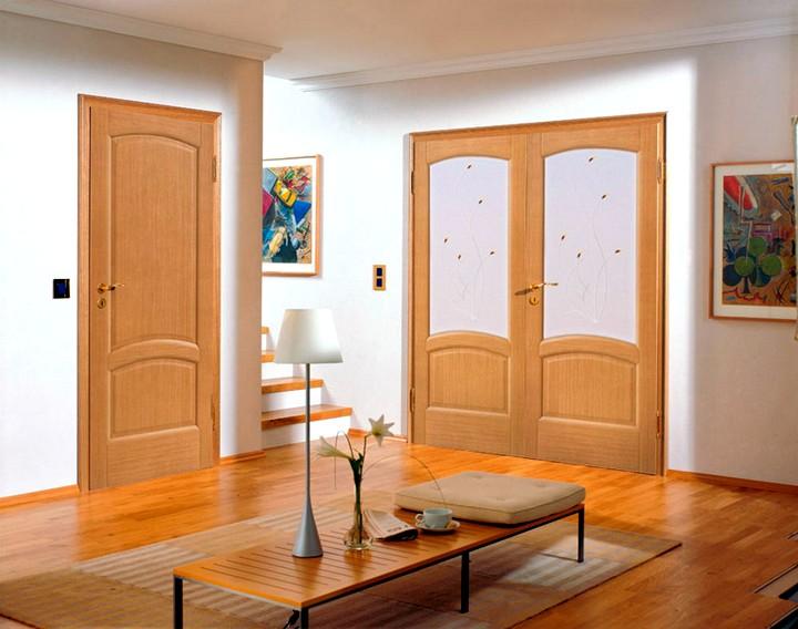 Межкомнатные распашные двери (2)