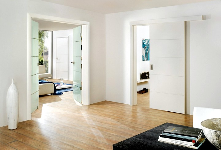 Фото 16: Распашные межкомнатные двери (10)