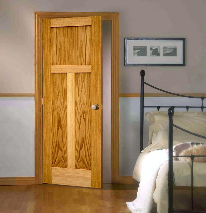 Фото 23: Распашные межкомнатные двери (18)