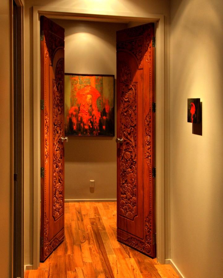 многих, эта необычные двери межкомнатные фото ней был золотой