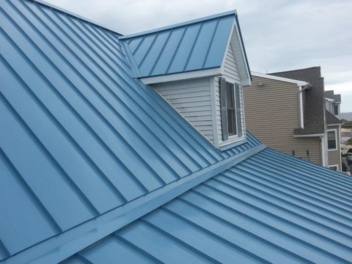 цветовое разнообразие фальцевой крыши