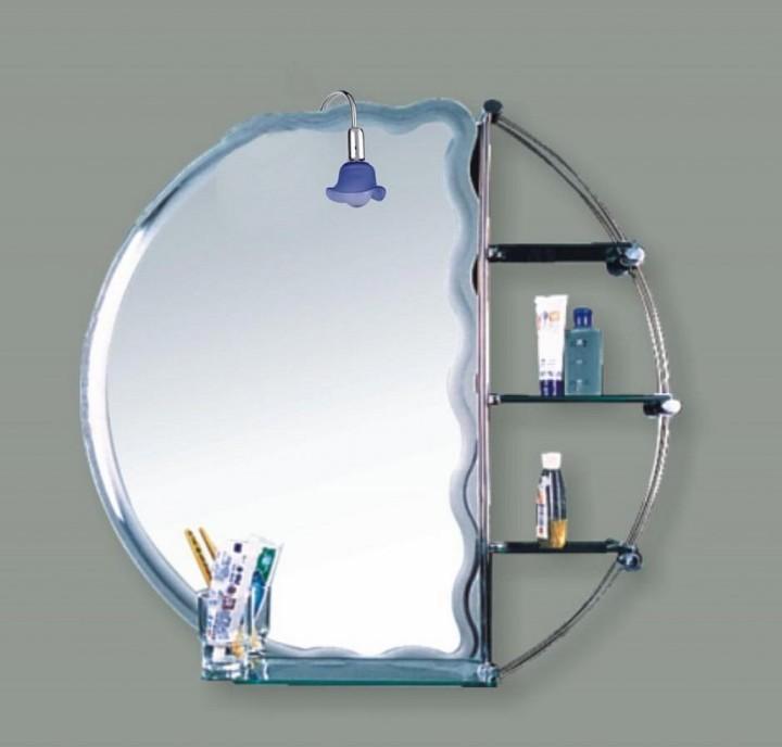 зеркало с полками