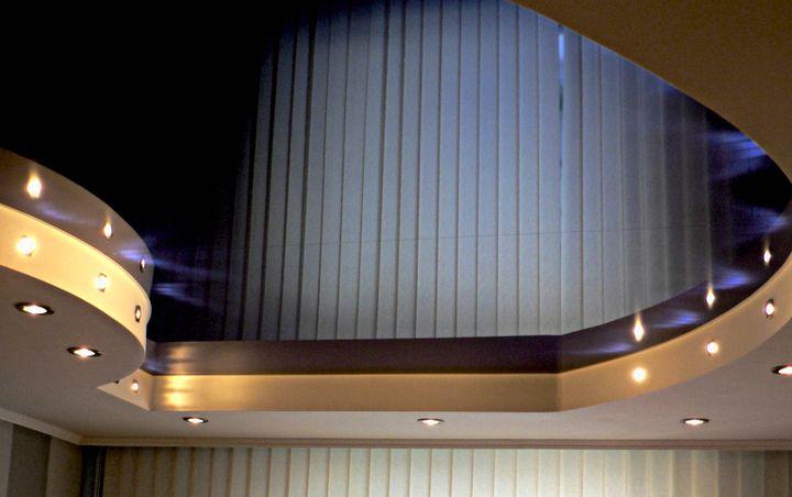 Конфигурация натяжного потолка