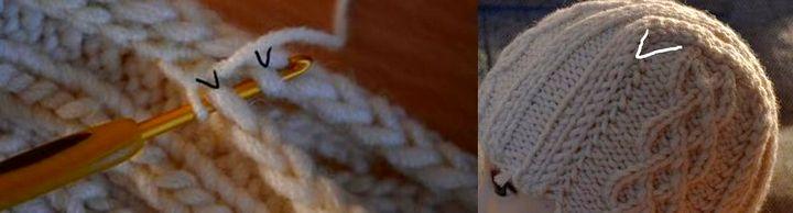 Сборка и формирование шапки - ушанки