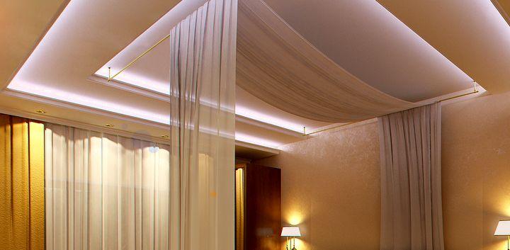 Уникальная конструкция потолка