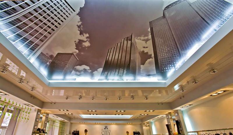 Фото 5: 3Д натяжной потолок