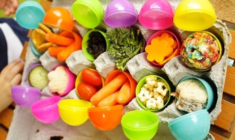 Фото 9: Контейнеры в виде яиц на пасху