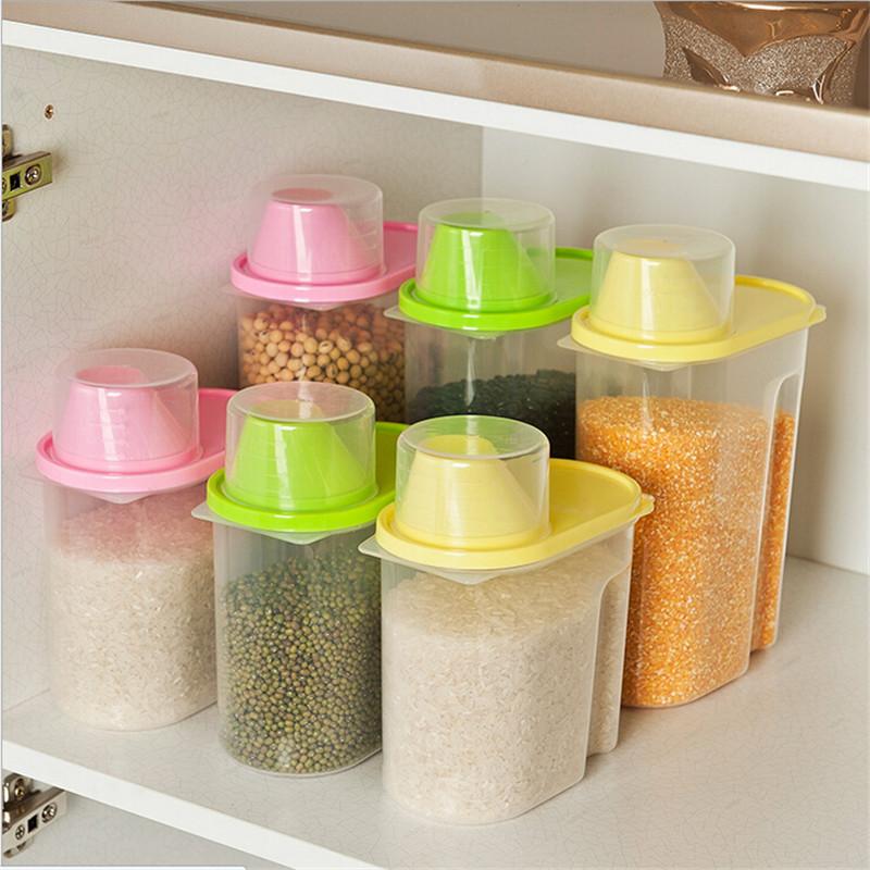Фото 10: Пластиковые котейнеры для сыпучих