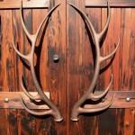 Фото 16: Дверные ручки в виде рогов