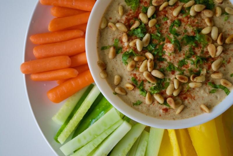 Фото 5: Хумус кедровыми орехами