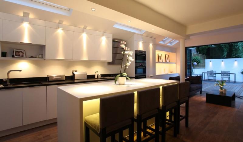 Фото 12: Подсветка кухни