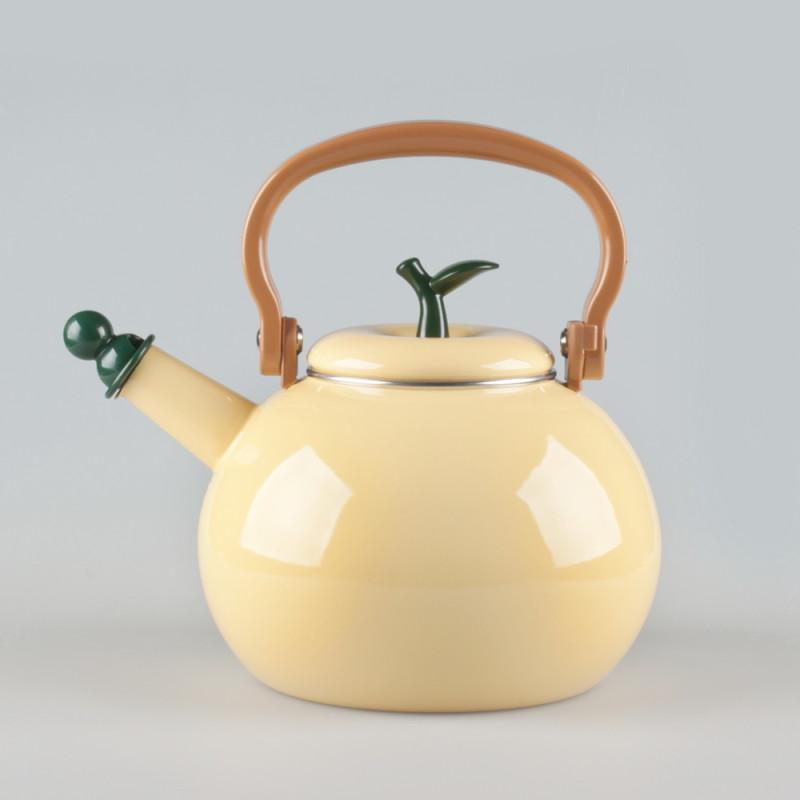 Фото 12: Керамический чайник в виде лимона