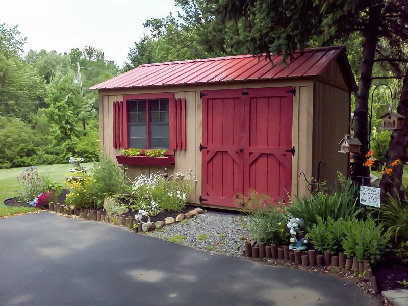 Фото 13: Дизайн садового хозблока
