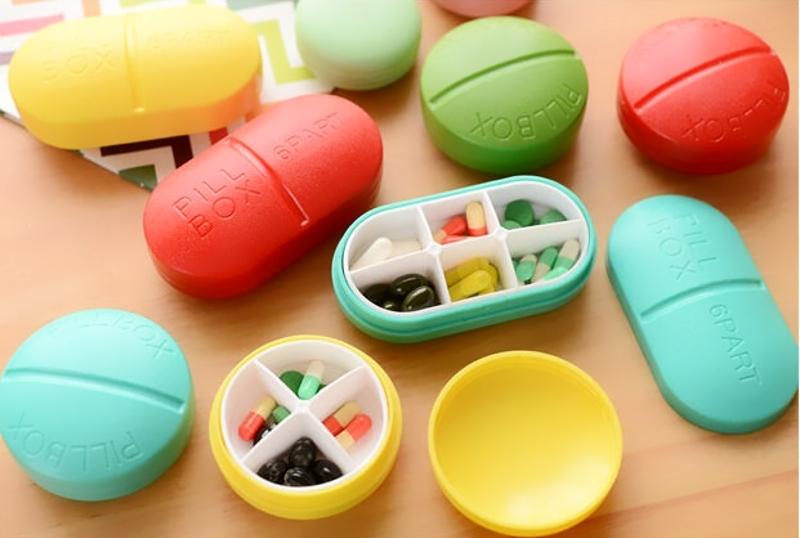 Фото 8: Контейнеры для таблеток