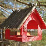 Фото 58: Красный домик для птиц