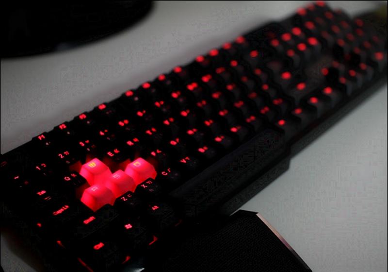Геймерская подсветка клавиатуры