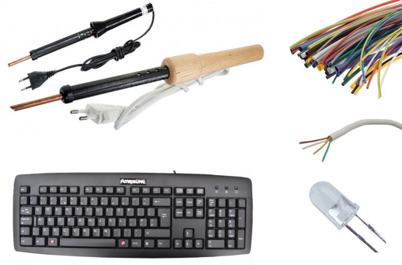 Инструменты для подсветки клавиатуры